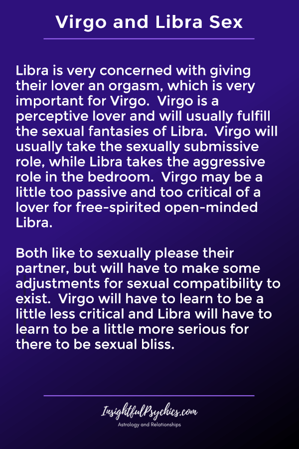 virgo and libra sexually compatible